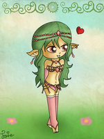 Commission: Elf Girl by Jrynkows