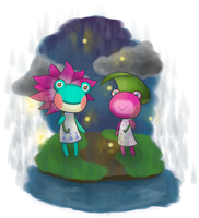 Lily and Puddles by TheBlueprintForLife