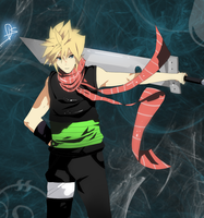 Cloud Strife - Custom - Final Fantasy VII by NovaTazuna
