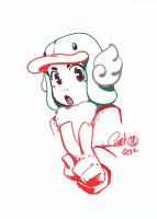 DustJacketIllus - MeloDuck by theCHAMBA