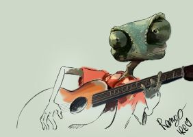 Rango_sketch by pizzaplanet