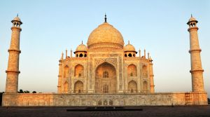Taj Mahal sunrise 1 by wildplaces