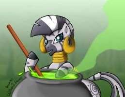 Zecora (Request) by skull-boy666