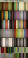 Retro Stripes Backgrounds by AzureRayArt