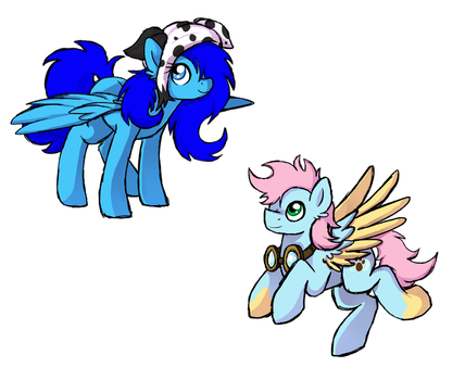 Request-soarinshy  Siblings by mississippikite