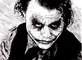 The Joker - Why so Serious? by Samvinci
