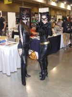 Catwoman of the South VS Catwoman of the 60's by CatwomanofTheSouth