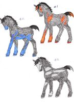 Elementequine Adoptables 1 by rempage