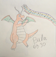 Musical Dragonite by MysteryBeliever-KJB