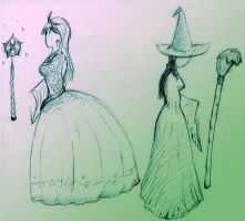 Witches of Oz - clothes sketch by pseudoenergy