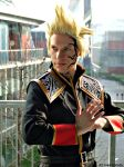 Zell Dincht cosplay, SeeD uniform #2 by Alexcloudsquall