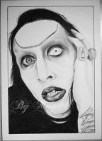 Marilyn Manson by Daisy-Dead