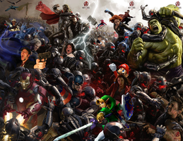 The Avengers: Age of Teh Internetz by unusedusername111