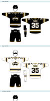 Dallas Stars Uniforms by matthiason
