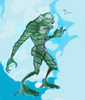 the creature from the black lagoon reimagined by danny2069