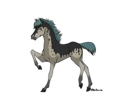 Horse Adoptable .:Closed:. by AdoptAllTheThings