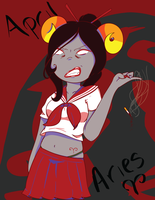 April is for Aries by NutmegLovePeppermint