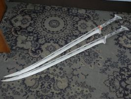 Thranduil (paper) sword by MorellAgrysis