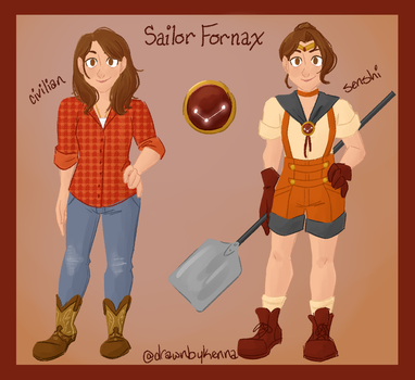 CS: Sailor Fornax by drawnbykenna