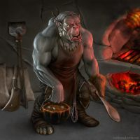 Orc Chef by JoshBurns
