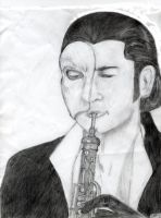 Erik and his Oboe by Erik-is-my-Hero