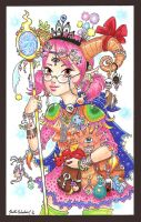 D and D: Lady Decora by Mystical-Kaba