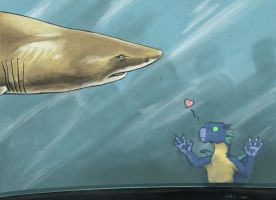 Shark is Love by Luthrai