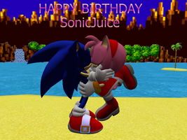 HAPPY B-DAY SonicJuice-sonamy by kamiase