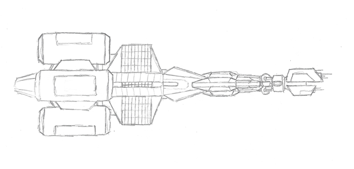 Interplanetary Transport Vehicle Asgard by improbableSpace