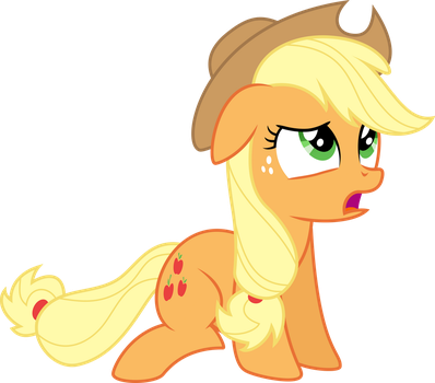 Guilty Applejack by liamwhite1