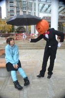 mr pumpkin: why hello there2 by niaryusuke
