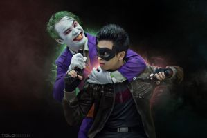 Joker and Jason: Crowbar Conflict by TiELOe