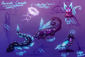 Animals Concept by Astral-Requin