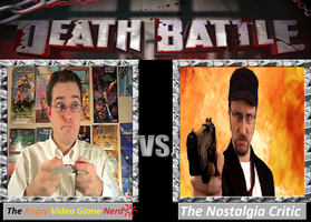 AVGN vs The Nostalgia Critic by cartoonfan22