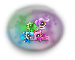 GF: Bubble Shadow Girls by ITBluebeadTI