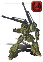 IMK-08A Deathstalker Cannon Re-imagine by dlredscorpion