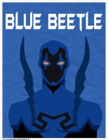 Blue Beetle Poster by xDarkHikarix