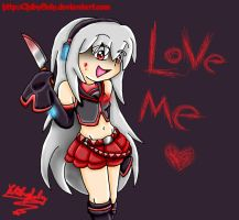Love me... by ChibySoly