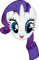 Rarity (Vector Challenge) by Flizzick