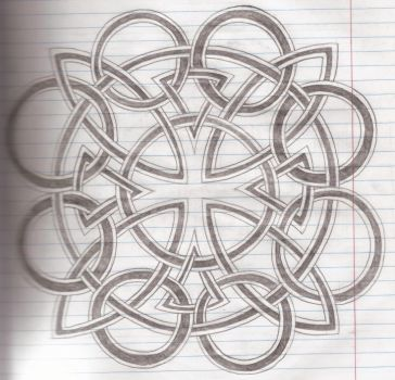 Iron-celtic-cross by thewisesloth