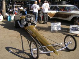 Astro Gold Dragster by Jetster1