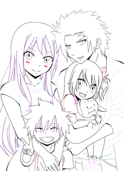 It's my family...no. It's Our Family! Line A.C by Ayakasha777