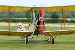 Royal Aircraft Factory B.E.2c (Replica/Lookalike) by Daniel-Wales-Images