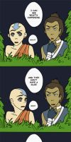 Sokka Feels the Love by beanaroony
