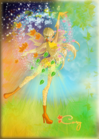 Cory - Fairy of Seasons by AstralBlu