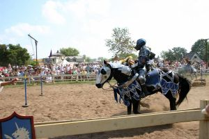 Jousting - Shining Armor 7 by Furaha015