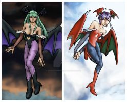 Darkstalkers by soulxconspiracy