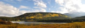 Lakeside Plateau Panorama by Goldleo