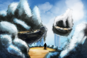Ice Desert in the Sky by Heartless-Bowser
