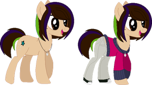 Sandrapony's official debut (Revamp) by Starlollipop